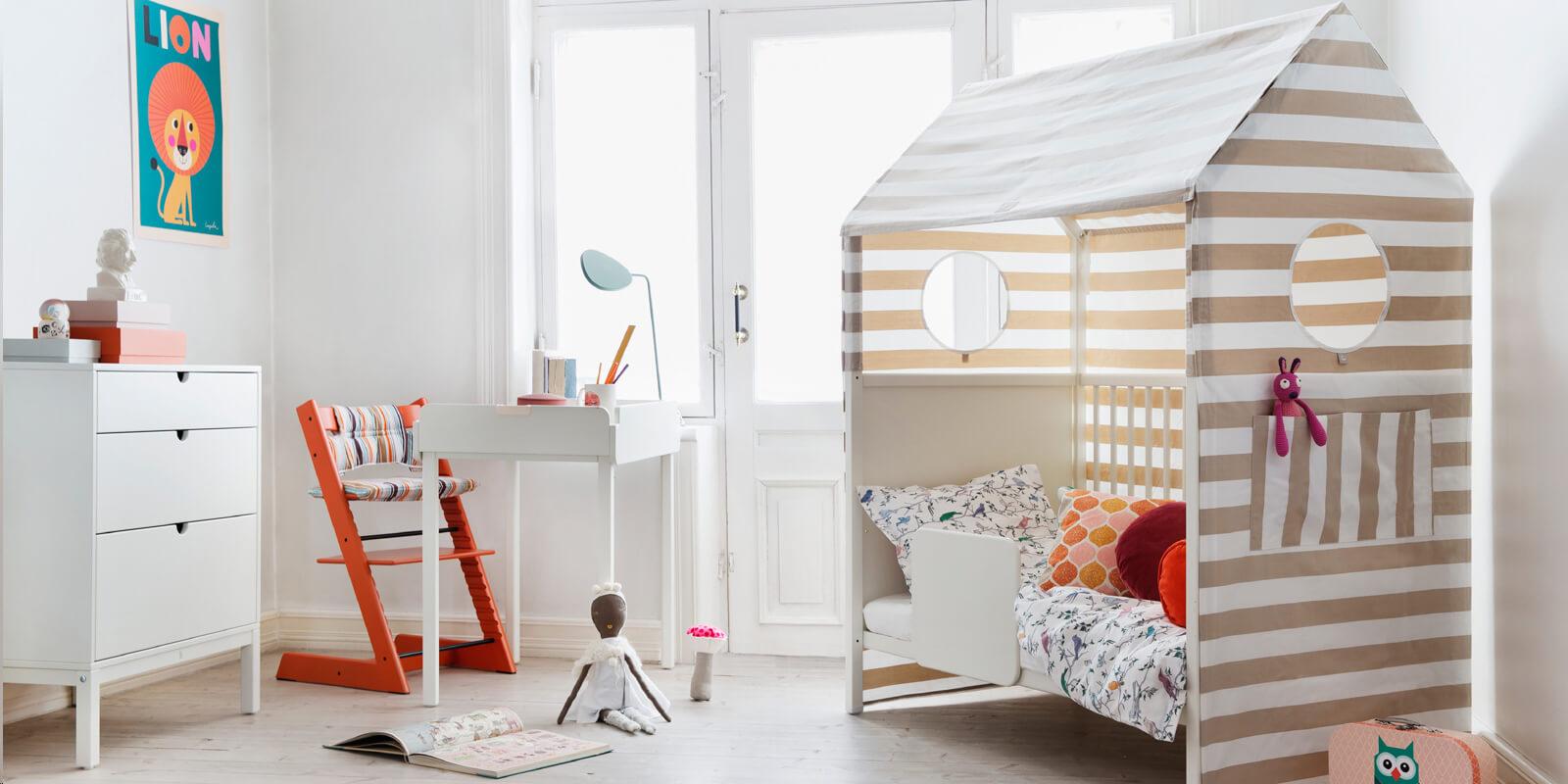 Kinderzimmer mit Stokke® Home™ – schön und funktional