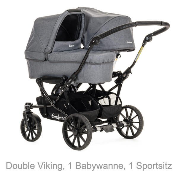 Double Viking 1 Sitz 1 Wanne