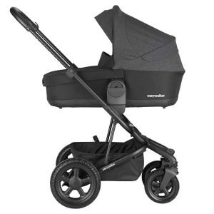 Easywalker Harvey 2 All Terrain Night Black Babywanne