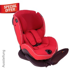 BeSafe Group 2 (Toddler) Weight: 0-25 kg Age: approx. 6 months - 5 years Approval: ECE R44-04 Installation: 3-point vehicle belt Direction: Rear facing