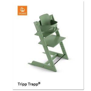 Stokke Tripp Trapp mit Baby Set Moss Green