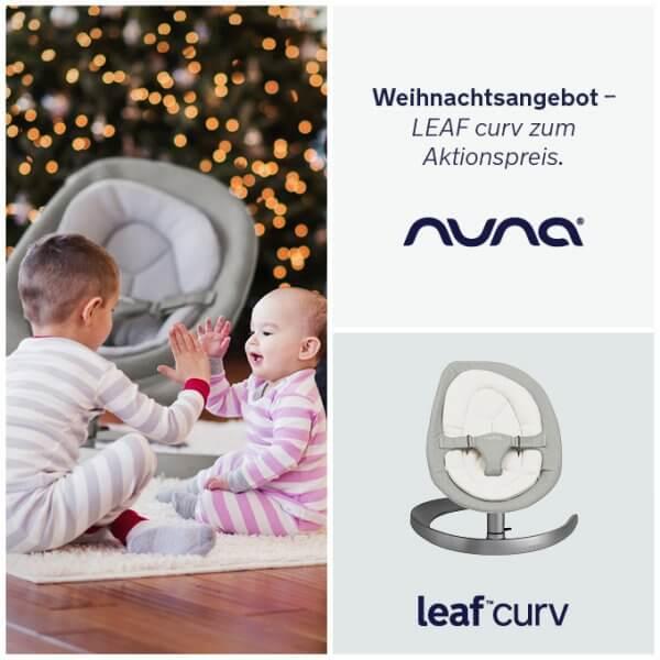 Nuna LEAF curv Weihnachtsangebot
